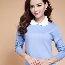 junior sweaters style pullover sweater neck doll collar