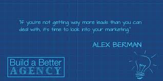 88 best build a better alex berman agency management institute