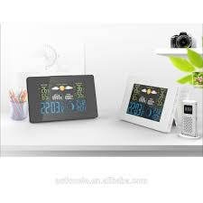 list manufacturers of wireless color forecast station buy