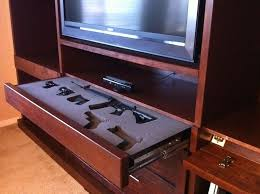 How To Make A Gun Cabinet by 10 Cool Secret Gun Cabinets For Your Home Pics