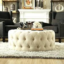 fabric ottoman coffee table ottomans used as coffee tables furniture white round fabric ottoman