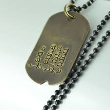 Personalized Dog Tag Necklaces Fathers Day Gift Personalized Dog Tag Necklace Hand Stamped Mens