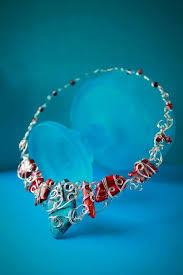 wire jewelry necklace images 14 free wire jewelry patterns for beginners jpg