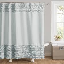 bathroom shower curtain extra long boho shower curtains luxury shower curtains labrazel 84 long shower curtain