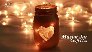 Mason Jar Home Decor Ideas Craft Ideas Mason Jar Decor Youtube