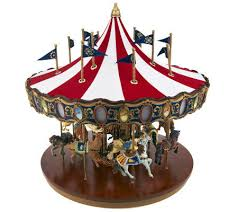 mr grand flag carousel with lights and page 1
