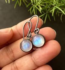 earrings ideas buy oxidized silver rainbow moonstone earrings jewelry gift ideas