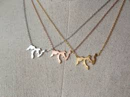 great necklace great lakes necklace 14k gold plated gold silver dainty
