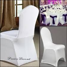 housse de chaise blanche housses de chaise blanche achat vente pas cher