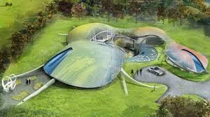 Eco Home Design Uk Nottinghamshire Lottery Winners Plan To Build Futuristic Eco House