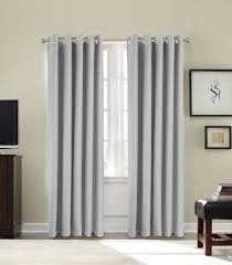 Cream Blackout Curtains Eyelet by Groundlevel Thermal Blackout Curtains 66 X 54 Inch