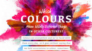infographic which colors wildly different things in other