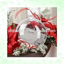 wholesale large transparent plastic ball christmas ornaments buy