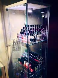 Nail Varnish Cabinet Ikea Detolf My New Beautiful Nail Polish Storage And Display