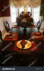 Elegant Table Settings by Elegant Table Setting Formal Dining Room Stock Photo 1526254