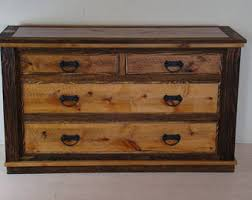 Solid Wood Bedroom Dressers Farmhouse Dresser Etsy