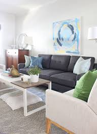 Eclectic Living Room Furniture Our New Living Room Sofa From Burrow Mix Match Design Company