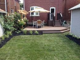 another back yard makeover gta landscaping
