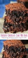 chocolate cake mix bars are a yummy bar recipe that u0027s simple