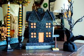Pottery Barn Halloween Decorations Pottery Barn Halloween Diy Decor And Crafts The Crazy Craft Lady