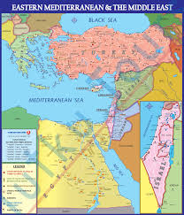 The Middle East Map by Turkey Study Abroad Archaeological Map Of Turkey