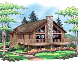 chalet homes the breckenridge from terrace custom home builders in wisconsin