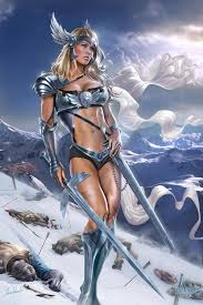 valkyrie by tom wood featured artist on the fantasy gallery