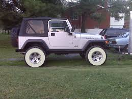white jeep black rims can i put white walls out if i u0027m under 50 jeep wrangler tj forum