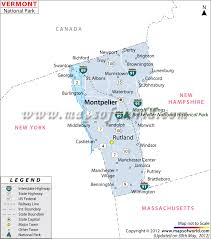 usa map vt vermont national parks map
