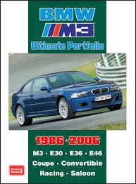 Bmw M3 2006 - bmw m3 ultimate portfolio 1986 2006 r m clarke 9781855207509