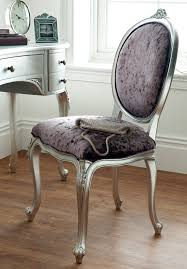 Silver Leaf Bedroom Furniture by Régency French Dressing Table Chair Oak Furniture Uk