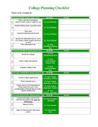 sjs college planning checklist pdf