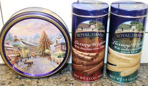 royal dansk luxury wafers in vanilla u0026 chocolate u0026 original