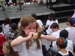 kids shofar associated sets shofar blowing record