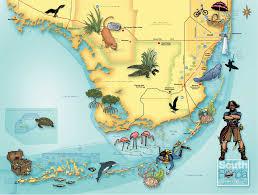 Map South Florida by Maps U2013 Lynnesands Com
