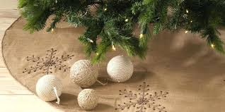 burlap and lace tree ornaments burlap tree