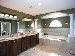 master bathroom layout ideas vessel sink wall mirror rectangle
