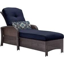 Lounge Chairs For Patio Hanover Strathmere All Weather Wicker Patio Chaise Lounge Chair