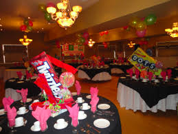 Spotlight New Years Eve Decorations by The Erica Levy Bat Mitzvah Family Spotlight Centerpieces Bat