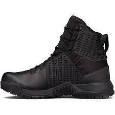 under armour men u0027s ua stryker tactical boots in black for men lyst