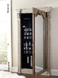 Over The Door Jewelry Cabinet Mirrored Armoire Mirrored Armoire View Full Size Mirrored
