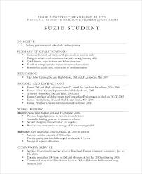 babysitting resume examples free resume templates for high