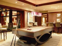 trendy pool table in living room ideas