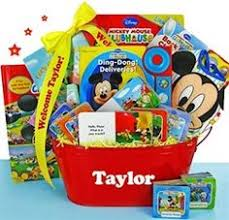 personalized mickey mouse easter basket this basket o is filled up with everything they will need to