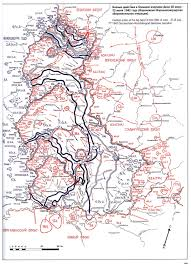 Big Bend Map Maps 1942 South West
