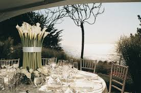 Wedding Centerpieces For Round Tables by Cliffside Wedding Overlooking Monterey Bay Inside Weddings