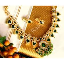 necklace online store images Buy kerala traditional paalakka necklace online shopping for jpg
