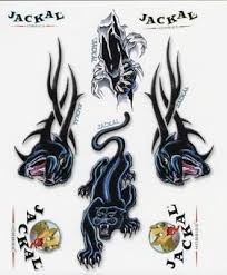 jackal tribal panther tattoo designs photos pictures and