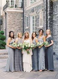 blue gray bridesmaid dresses best 25 grey bridesmaid dresses ideas on grey