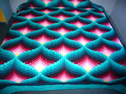 Teal Blue And Lime Green Bedspreads Amish Quilt Light In The Valley Pattern New Teal Green Rose And